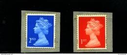 GREAT BRITAIN - 1998  MACHIN  2nd+1st CLASS  PHOTO  SELF ADHESIVE  SET  MINT NH - 1952-.... (Elizabeth II)