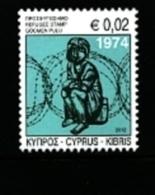 CYPRUS - 2012  REFUGEE FOUND  MINT NH - Nuovi