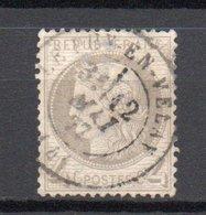 - FRANCE N° 52 Oblitéré CAD - 4 C. Gris Type Cérès 1872 - Cote 60 EUR - - 1871-1875 Cérès