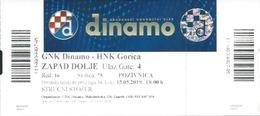 Sport Ticket UL000815 - Football (Soccer Calcio) Dinamo Zagreb Vs Gorica 2019-05-15 - Tickets D'entrée