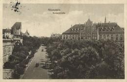 ALLENSTEIN OLSZTYN, Kaiserstrasse (1917) Polen AK - Ostpreussen