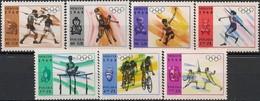 POLAND - SHORT SET MEXICO SUMMER OLYMPIC GAMES 1968 - MNH - Summer 1968: Mexico City