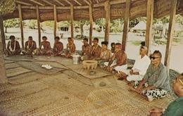 SAMOA , 50-60s ; Kava Ceremony - Samoa Americana