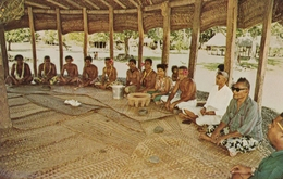 SAMOA , 50-60s ; Kava Ceremony - Amerikaans-Samoa