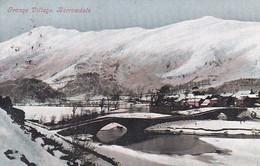 PC Grange Village - Borrowdale - In Winter - 1904 (46568) - Cumberland/ Westmorland