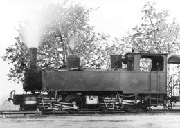 Reproduction - Données Techniques Au Dos - Lausanne - Echallens - Bercher - Ex Yverdon - Ste Croix - B+Bh4vt(15 X 10 Cm) - Trains