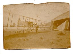 MILITARIA . AVIATION . PHOTO SÉPIA . AÉROPLANE - Réf. N° 21 - - Aviation