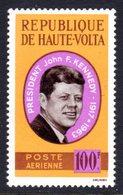 UPPER VOLTA - 1964 PRESIDENT KENNEDY COMMEMORATION 100F STAMP FINE MNH ** SG 152 - Upper Volta (1958-1984)