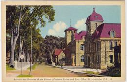 Bureau Des Douanes Et Des Postes, St-Hyacinthe, Quebec, PECO  (F369) - St. Hyacinthe