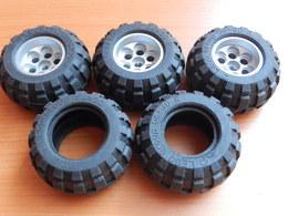 3 Roues + 2 Pneus LEGO TECHNIC 56x30 R - Lego Technic