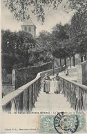 26, Drome, SANIT VALLIER SUR RHONE, La Passerelle Sur La Galaure, Scan Recto Verso - Autres Communes