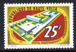 UPPER VOLTA - 1964 INDEPENDENCE HOTEL 25F STAMP FINE MNH ** SG 153 - Upper Volta (1958-1984)
