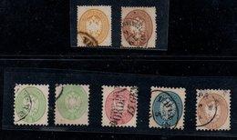 Stemma Austroungarico :7 Vall Usati (36+40L ; 42+42a; 43; 44; 45) = € 1.020 - Lombardije-Venetië