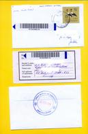 SOUTH SUDAN Registered Cover With 2017 75 SSP Overprint Stamp On 5 SSP Birds, With Receipt - Soudan Du Sud Südsudan - South Sudan