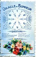 N°1290 T -cpa Carte à Système Oracle Du Bonheur -les Réponses Sont Sous Le Découpis- - Mechanical