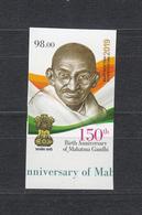 Kirgistan Kyrgyzstan MNH** 2019 150 Year Aniv. Of Mahadma Gandhi   Mi 976 B M - Mahatma Gandhi