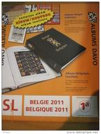 SUPPLEMENT DAVO BELGIQUE 2011 SL 1a . - Album & Raccoglitori