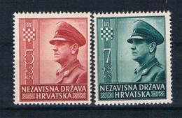 Kroatien1943 Mi.Nr. 100/01 ** - Kroatien