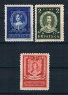 Kroatien1943 Mi.Nr. 103/05 Kpl. Satz ** - Kroatien