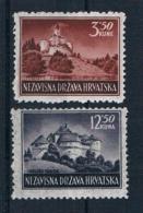 Kroatien1943 Mi.Nr. 98/99 Kpl. Satz ** - Kroatien