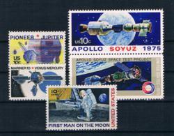 USA Kleines Lot Raumfahrt 5 Werte ** - Spazio