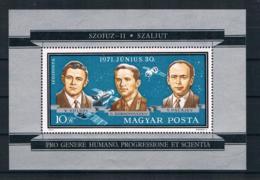 Ungarn 1971 Raumfahrt Block 84A ** - Ungebraucht
