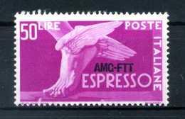 1950 TRISTE A AMG-FTT N.7 MNH ** - 7. Trieste