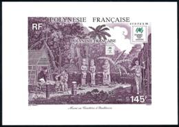 POLYNESIE 1988 - Yv. BF 14 (310) **   Faciale= 1,22 EUR - Expo Phil. Sydpex'88  ..Réf.POL25028 - Blocks & Kleinbögen