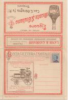1920 Busta-lettra-Postale (Illustrée D'une Presse Ancienne Vinification Du Raisin Pus Pub Vini Marsala) - Francobolli Per Buste Pubblicitarie (BLP)