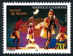 NOUV.-CALEDONIE 1999 - Yv. 806 **   Faciale= 0,59 EUR - Spectacle 'âji âboro'  ..Réf.NCE25482 - New Caledonia