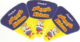 """Algérie - 3 étiquettes De  Fromage Fondu """" Kiricou"""" Autre Design. - Fromage"""