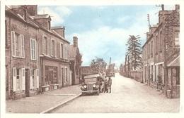 Dépt 14 - LE MOLAY-LITTRY - Le Bourg - (Édition Massey - Photo Poppé) - Automobile Ancienne - Andere Gemeenten
