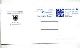 Lettre Flamme Ema Frankit Joyeux Noel Ville Nordlingen - [7] West-Duitsland