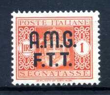 1947 TRIESTE ZONA A AMG-FTT SEGNATASSE N.1 * - 7. Triest