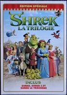 SHREK - La Trilogie - Édition Spéciale - 3 DVD . - Dessin Animé