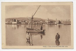 Suez - View Of The Town During High Water - Suez