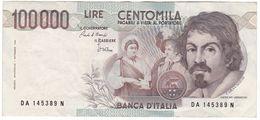 Italy P 110 A - 100,000 Lire 1.9.1983 - VF - [ 2] 1946-… : Republiek