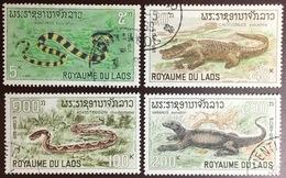 Laos 1967 Reptiles FU - Reptiles & Batraciens