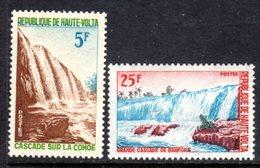 UPPER VOLTA - 1965 BANFORA WATERFALLS SET (2V) FINE MNH ** SG 159-160 - Upper Volta (1958-1984)