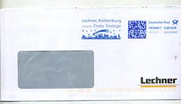 Lettre Flamme Ema Frankit Joyeuses Fetes Lechner - [7] West-Duitsland