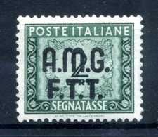 1947-49 TRIESTE ZONA A AMG-FTT SEGNATASSE N.6 MNH ** - Impuestos