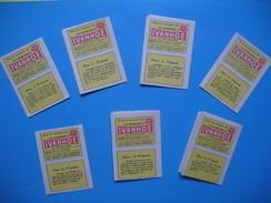 Publicité, Lot De Petites BD (n° 87 à 93)   Les Aventures  D'  IVANHOE , Avec Le Concours De Télé Magazine - Advertisement