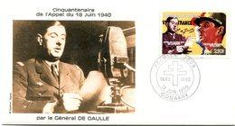 Thème Général De Gaulle - PJ Guinée  Yvert 902 - X 1415 - De Gaulle (Generale)