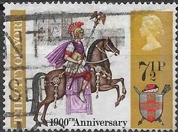 GREAT BRITAIN 1971 British Anniversaries - 7 1/2 P - Roman Centurion AVU - 1952-.... (Elisabetta II)