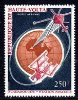 UPPER VOLTA - 1966 SATELLITE TRACKING STATION 250F STAMP FINE MNH ** SG 194 - Upper Volta (1958-1984)