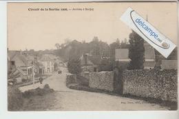 CIRCUIT AUTOMOBILE De La SARTHE 1906 : Arrivée A BERFAY .édit Cocu. - France
