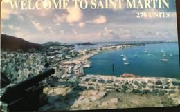 ANTILLES FRANCAISES  -  Saint-Martin  -  Prepaid  -  270 Ut. - Antillen (Frans)