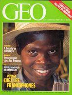 MAGAZINE GEO  No 138 VOYAGE CHEZ LES FRANCOPHONES AOUT 1990 - Tourisme & Régions