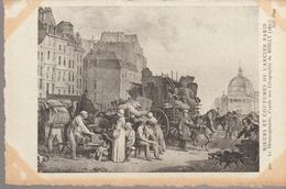 C. P. A. - MŒURS ET COUTUMES DE L'ANCIEN PARIS - LE DÉMÉNAGEMENT D'APRÈS UNE LITHOGRAPHIE DE BOILLY - 1827 - 400 - N. D. - France