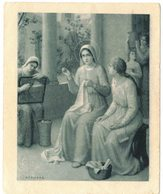 ILLUSTRE AZAMBRE LA SAINTE VIERGE AU TEMPLE IMAGE PIEUSE RELIGIEUSE HOLY CARD SANTINI PRENTJE HEILIG - Imágenes Religiosas
